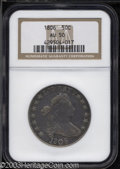 Early Half Dollars: , 1806 50C Pointed 6, No Stem AU50 NGC. O-109, R.1. The ...