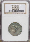 Proof Large Cents: , 1857 1C PR66 Brown NGC. NGC Census: (8/0). PCGS Population (2/0).Mintage: 238. Numismedia Wsl. Price: $6,650. (#2000)...