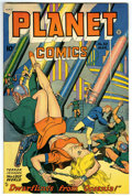 Golden Age (1938-1955):Science Fiction, Planet Comics #53 (Fiction House, 1948) Condition: VF/NM....