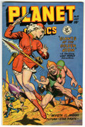 Golden Age (1938-1955):Science Fiction, Planet Comics #55 (Fiction House, 1948) Condition: FN/VF....