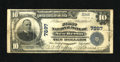 National Bank Notes:Pennsylvania, New Berlin, PA - $10 1902 Plain Back Fr. 625 The First NB Ch. #7897. ...