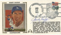 Autographs:Others, Sandy Koufax Signed First Day Cover. Issued in 1989 to honor hisinduction into Cooperstown's Baseball Hall of Fame, the fi...