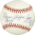 "Autographs:Baseballs, Florence Griffith-Joyner Single Signed Baseball. Florence ""FloJo""Griffith-Joyner, is best remembered for her media flamboy..."