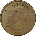 Large Cents, 1793 Chain 1C Periods VF20 PCGS....