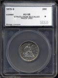 Additional Certified Coins: , 1875-S 20C Twenty Cent Piece, So-Called Proof Dies AU58 ...