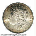 Additional Certified Coins: , 1884-S $1 Morgan Dollar MS63 SEGS (MS61). A sharply ...