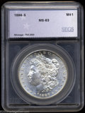 Additional Certified Coins: , 1886-S $1 Morgan Dollar MS63 SEGS (MS62). Wisps of ...