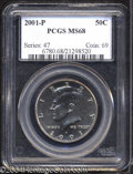 Kennedy Half Dollars: , 2001-P MS68 PCGS. ...