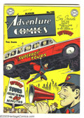Golden Age (1938-1955):Superhero, Adventure Comics #138 Superboy (DC, 1949) Condition: FN. Johnny Quick, the Shining Knight, Aquaman, and the Green Arrow appe...