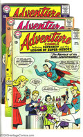 Silver Age (1956-1969):Superhero, Adventure Comics Group (DC, 1964-65). Featuring the Legion of Super-Heroes. This lot consists of issues #326, 239, 332, and ... (Total: 6 Comic Books Item)