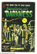 Golden Age (1938-1955):Horror, Adventures Into Darkness #6 (Standard, 1952) Condition: FN. George Tuska art. Overstreet 2003 FN 6.0 value = $78. From the...