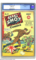 Golden Age (1938-1955):Superhero, Big Shot Comics #26 Rockford pedigree (Columbia, 1942) CGC VF/NM 9.0 Off-white to white pages. Excellent WWII cover. Overstr...