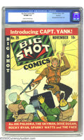 Golden Age (1938-1955):Superhero, Big Shot Comics #29 Rockford pedigree (Columbia, 1942) CGC VF/NM Cream to off-white pages. First appearance of Capt. Yank. O...