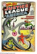 Silver Age (1956-1969):Superhero, The Brave and the Bold #28 Justice League of America (DC, 1960) Condition: GD+. Origin and first appearance of the Justice L...