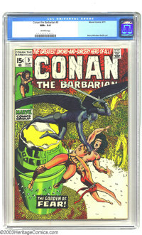 Conan The Barbarian #9 (Marvel, 1971) CGC NM+ 9.6 Off-white pages. Barry Windsor-Smith art. To date, only two copies of...