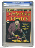 Golden Age (1938-1955):Superhero, Detective Comics #69 (DC, 1942) CGC VG 4.0 Off-white pages. Joker cover and story by Jerry Robinson. Simon & Kirby, Howard S...