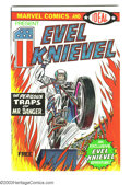 Bronze Age (1970-1979):Miscellaneous, Evel Knievel nn (Marvel, 1974) Condition: VF/NM. Contains photo oninside back cover. Overstreet 2003 VF/NM 9.0 value = $29....