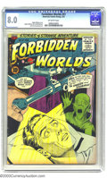 Silver Age (1956-1969):Horror, Forbidden Worlds #51 (ACG, 1957) CGC VF 8.0 Off-white pages. OgdenWhitney cover and Kurt Schaffenberger artwork. Overstreet...