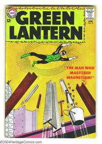 Green Lantern #21 (DC, 1963) Condition: VF. Origin and first appearance Dr. Polaris. Gil Kane cover and art. Overstreet...
