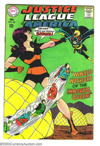 Justice League of America #60 (DC, 1968) Condition: VF+. The Atom, Batgirl, Superman,Flash, Wonder Woman, Hawkman, and G...