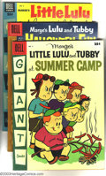 Silver Age (1956-1969):Miscellaneous, Little LuLu and Tubby Miscellaneous Group (Dell, 1954-57). This lot consists of six comics, #5 Little LuLu and Tubby at Su... (Total: 6 Comic Books Item)