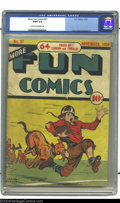 Golden Age (1938-1955):Miscellaneous, More Fun Comics #37 (DC, 1938) CGC GD/VG 3.0 Cream to off-white pages. Art by Bob Kane, Jerry Siegel and Joe Shuster. Gerber...