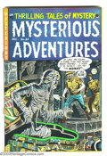Golden Age (1938-1955):Horror, Mysterious Adventures #23 (Story Comics, 1954) Condition: FN+. JayDisbrow art. EC swipe. Overstreet 2003 FN 6.0 value = $99...