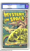 Golden Age (1938-1955):Science Fiction, Mystery in Space #14 Bethlehem pedigree (DC, 1953) CGC FN/VF 7.0Off-white pages. Carmine Infantino and Murphy Anderson art....