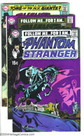 Bronze Age (1970-1979):Horror, The Phantom Stranger Group (DC, 1970-71) Condition: Average VF+.Four issue lot includes #6-8 and 15. Neal Adams covers. Jim...