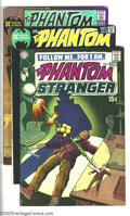 Bronze Age (1970-1979):Horror, The Phantom Stranger Group (DC, 1970-72). This lot consists ofissues #9 (FN); 10 (FN/VF); 11 (FN); 12 (FN/VF); 17 (VF); and...(Total: 6 Comic Books Item)