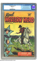 Golden Age (1938-1955):Western, Real Western Hero #70 (Fawcett, 1948) CGC VF/NM 9.0 White pages. Overstreet considers this to be the first issue. Tom Mix, M...