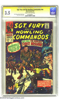 Silver Age (1956-1969):War, Sgt. Fury and His Howling Commandos #44 (Marvel, 1967) CGC VG- 3.5 Cream to off-white pages. Signature series. John Severin ...