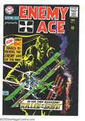 Silver Age (1956-1969):War, Showcase #57 Enemy Ace (DC, 1965) Condition: VG. Joe Kubert art. Large water stain back cover. Overstreet 2003 VG 4.0 value ...