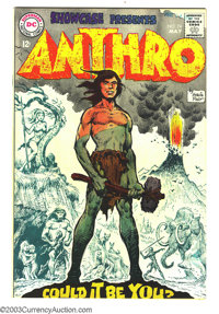 Showcase #74 Anthro (DC, 1968) Condition: VF. First appearance of Anthro. Howie Post cover and interior art. Overstreet...
