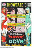 Silver Age (1956-1969):Superhero, Showcase #75 Hawk and the Dove (DC, 1968) Condition: FN-. Origin and first appearance of Hawk and the Dove. Steve Ditko cove...