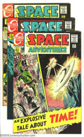 Golden Age (1938-1955):Science Fiction, Space Adventures Group (Charlton, 1968-69) Condition: VF-. This lotconsists of six comics, #2,3,5,6,7,and 8. Artists includ... (Total:6 Comic Books Item)