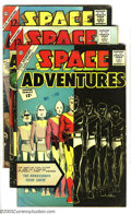 Golden Age (1938-1955):Science Fiction, Space Adventures Group #V3 (Charlton, 1962-64) Condition: FN. Thislot consists of eight comics, #48, 50, 51, 52, 53, 54, 55...(Total: 8 Comic Books Item)
