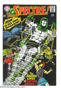 The Spectre #1 (DC, 1967) Condition: FN/VF. Murphy Anderson cover and art. Overstreet 2003 FN 6.0 value = $39; VF 8.0 va...