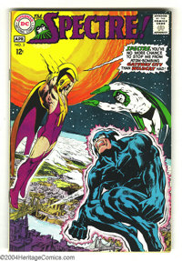 The Spectre #3 (DC, 1968) Condition: VF-. Neal Adams cover and art. Overstreet 2003 VF 8.0 value = $61