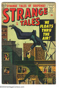 Silver Age (1956-1969):Horror, Strange Tales #58 (Marvel, 1957) Condition: VG+. Al Williamson andRalph Mayo art. Brown edges. Overstreet 2003 VG 4.0 value...