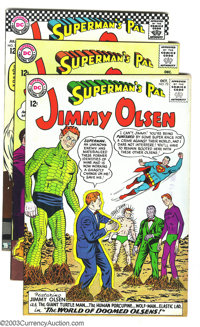 Superman's Pal Jimmy Olsen Group (DC, 1963-1967) Condition: VF. This lot consists of three comics, #72, 73, and 103. Ove...