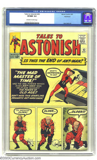 Tales to Astonish #43 Ant-Man Northland pedigree (Marvel, 1963) CGC VF/NM 9.0 Off-white to white pages. Jack Kirby cover...