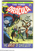 Bronze Age (1970-1979):Horror, Tomb of Dracula #4 (Marvel, 1972) Condition: NM-. Gene Colan art. Overstreet 2003 NM 9.4 value = $50. ...