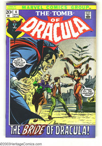 Tomb of Dracula #4 (Marvel, 1972) Condition: NM-. Gene Colan art. Overstreet 2003 NM 9.4 value = $50