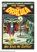 Bronze Age (1970-1979):Horror, Tomb of Dracula #2 and 3 Group (Marvel, 1972) Condition: VF+. High-grade lot includes #2 and 3. Gene Colan art. Overstreet 2... (Total: 2 Comic Books Item)