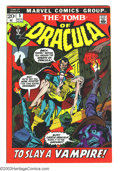 Bronze Age (1970-1979):Horror, Tomb of Dracula #5 and 6 Group (Marvel, 1972-73) Condition: VF+.Lot includes issues #5 and 6. Neal Adams cover on #6. Gene ...(Total: 2 Comic Books Item)