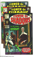 Silver Age (1956-1969):Horror, Tower of Shadows Group (Marvel, 1969-70) Condition: Average VF.Four-issue group includes #1, 2, 5, and 8. Jim Steranko, Joh...(Total: 4 Comic Books Item)