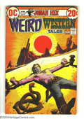 Bronze Age (1970-1979):Western, Weird Western Tales #14 (DC, 1972) Condition: NM-. Featuring Jonah Hex. Alex Toth art. Overstreet 2003 NM 9.4 value = $60....