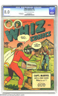 Golden Age (1938-1955):Superhero, Whiz Comics #61 (Fawcett, 1945) CGC VF 8.0 Cream to off-whitepages. Otto Binder story. C.C Beck cover. Overstreet 2003 VF 8...