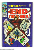 Silver Age (1956-1969):Superhero, X-Men #46 (Marvel, 1968) Condition: VF-. Juggernaut appearance. Don Heck and Werner Roth art. Overstreet 2003 VF 8.0 value =...